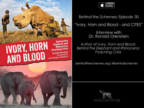 In Episode 30, we're talking about Africa's elephant and rhino crisis -- and the application of CITES.